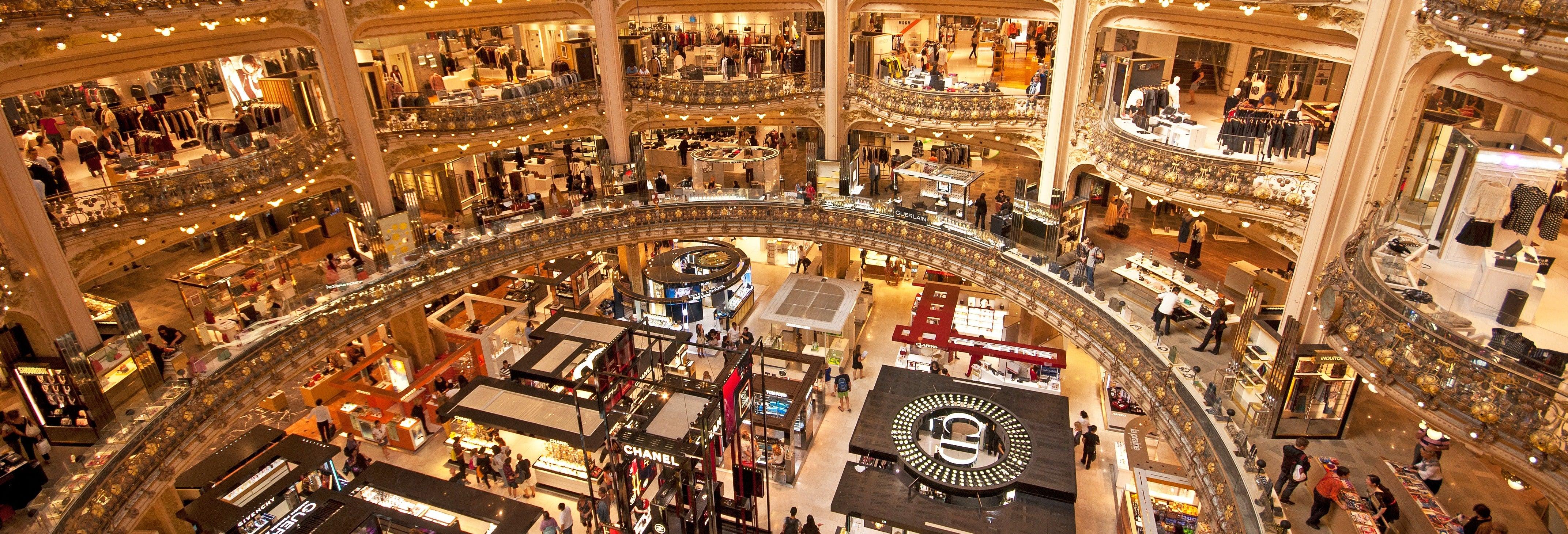 Visita guiada por las Galerías Lafayette