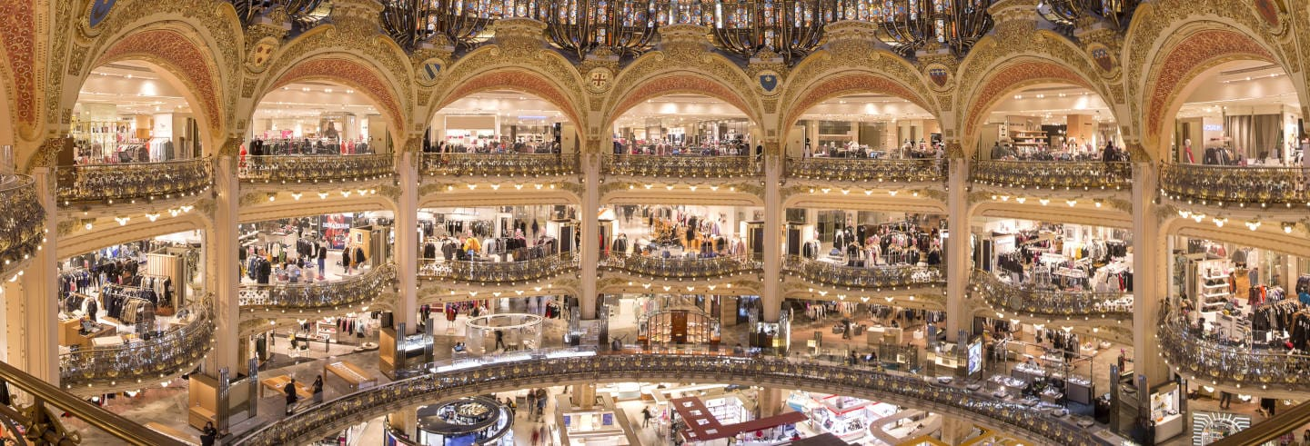 Visita guidata delle Galeries Lafayette