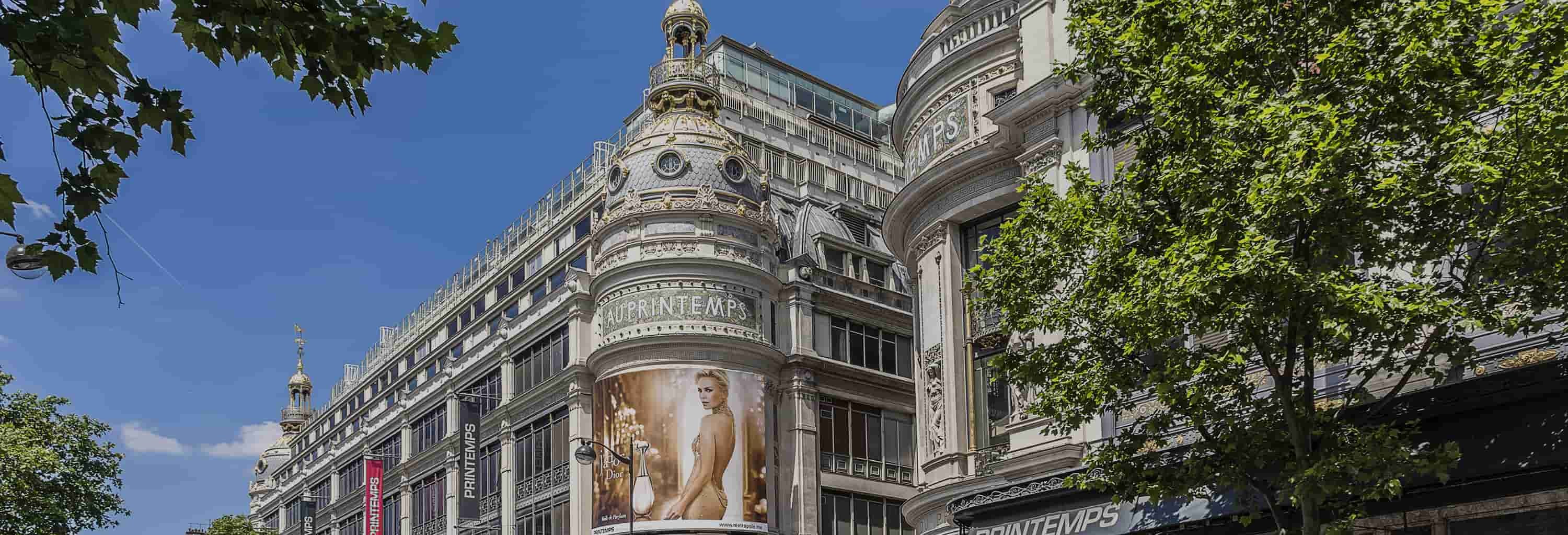 Printemps Haussmann Guided Tour