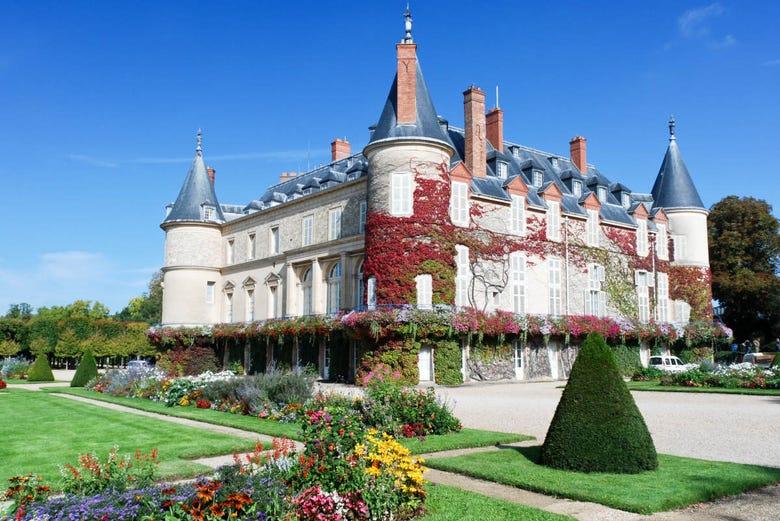 Billet coupe-file pour le Château de Rambouillet