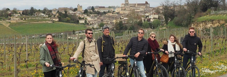 Tour por Saint Emilion en bicicleta eléctrica