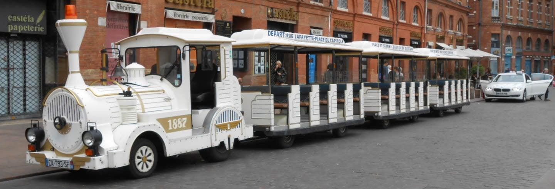 Tren turístico de Toulouse