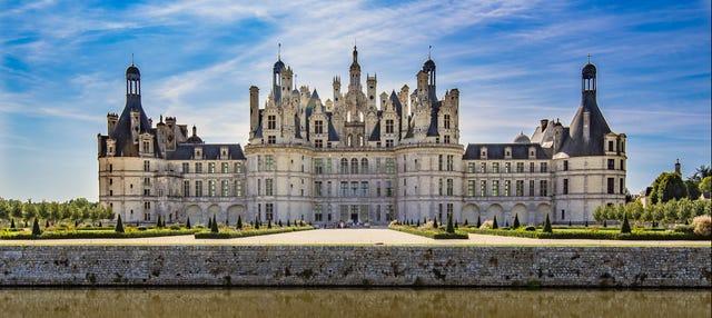 Paseo en helicóptero por los castillos del Loira