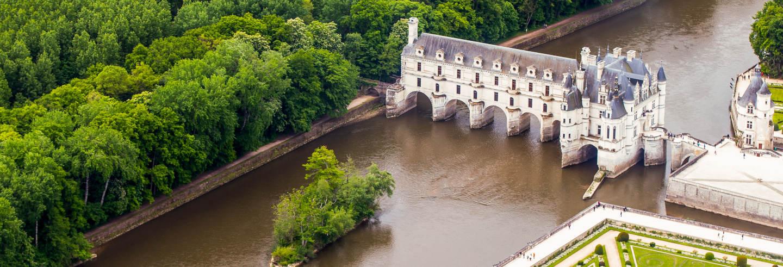 Tour por los castillos de Chenonceau, Amboise y Clos-Lucé