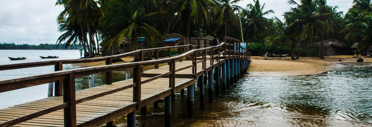 South Ghana Tour Package: 6 Days
