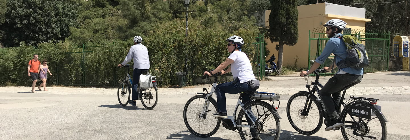 Electric Bike Tour of the Acropolis
