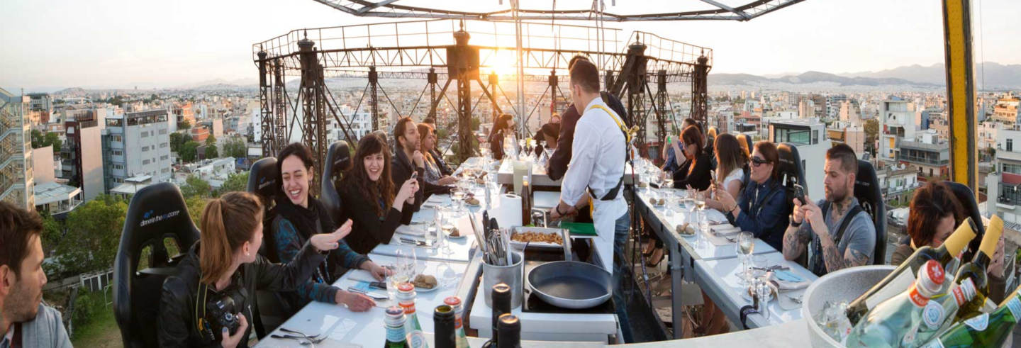 Jantar no Dinner in the Sky