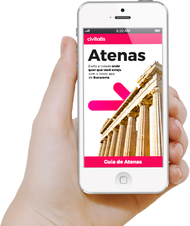 Faça download da app da Civitatis