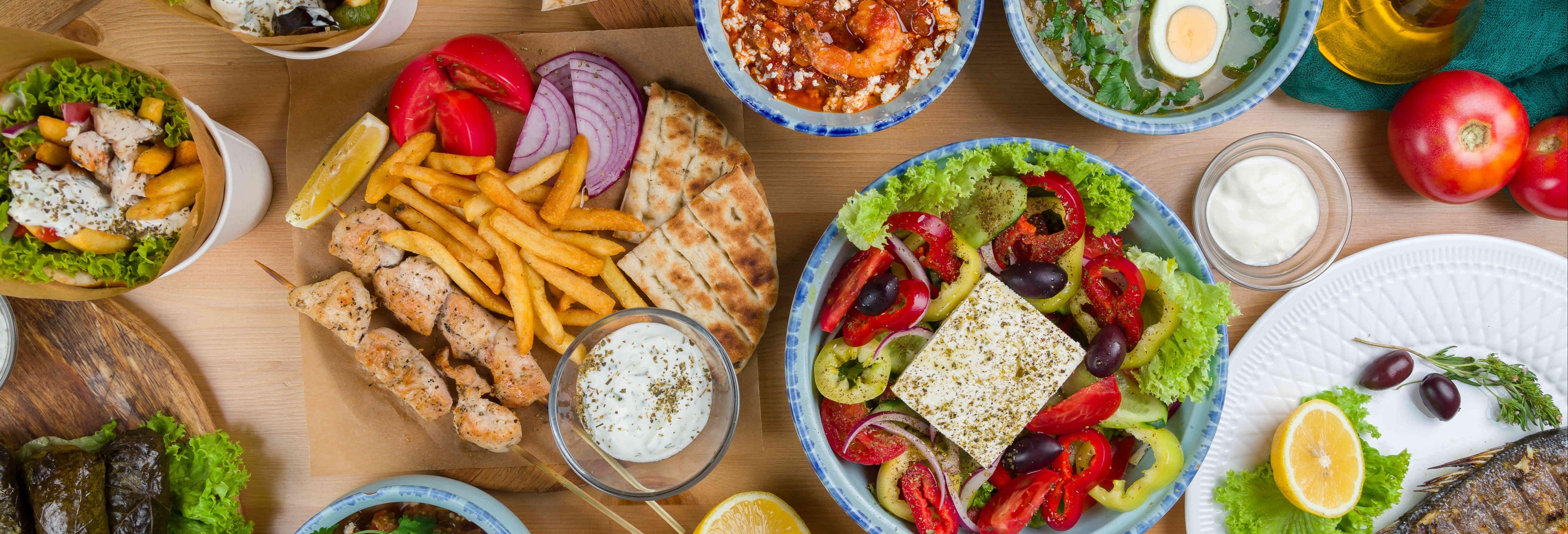 Taller de cocina griega