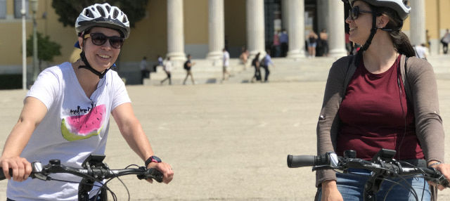 Tour en bicicleta eléctrica por Atenas