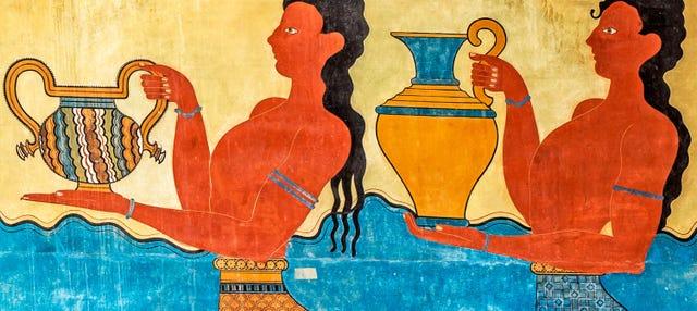 Visita guiada por el Palacio de Knossos