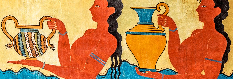 Visite guidée du site archéologique de Knossos