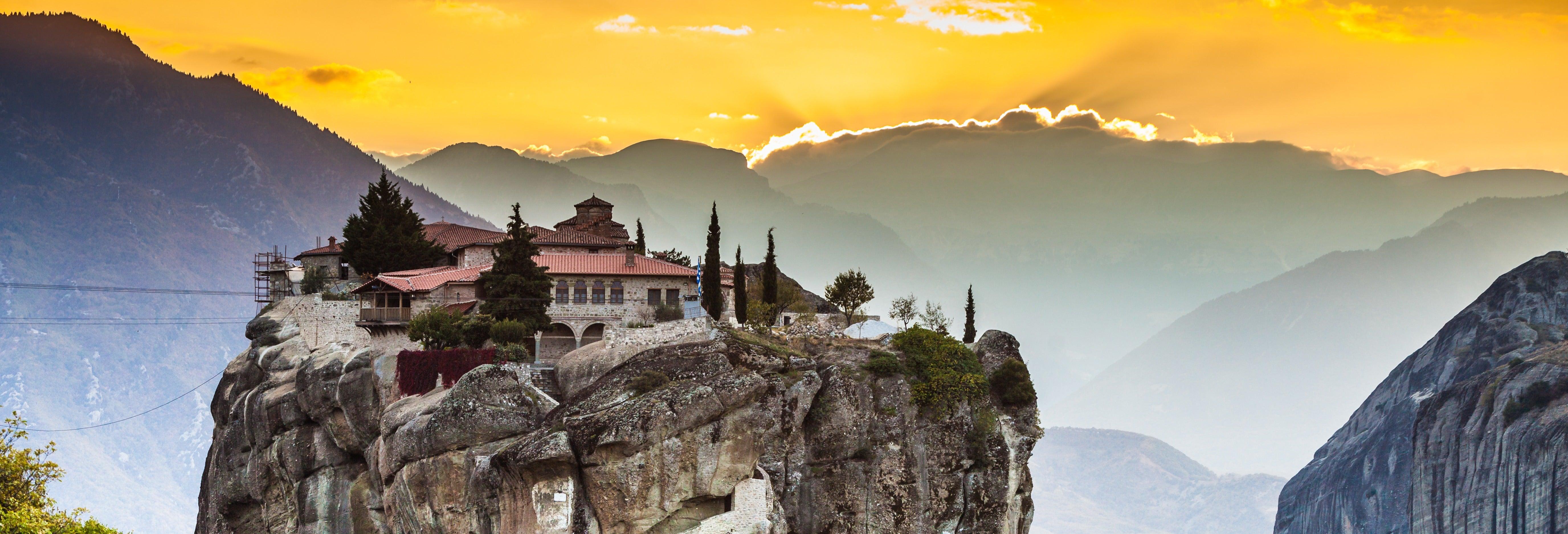 Excursión por Meteora al atardecer