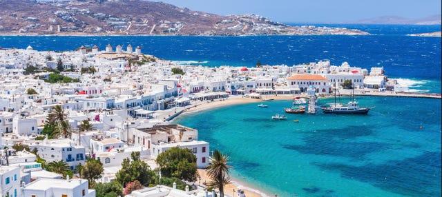 Excursión a Delos y Mykonos