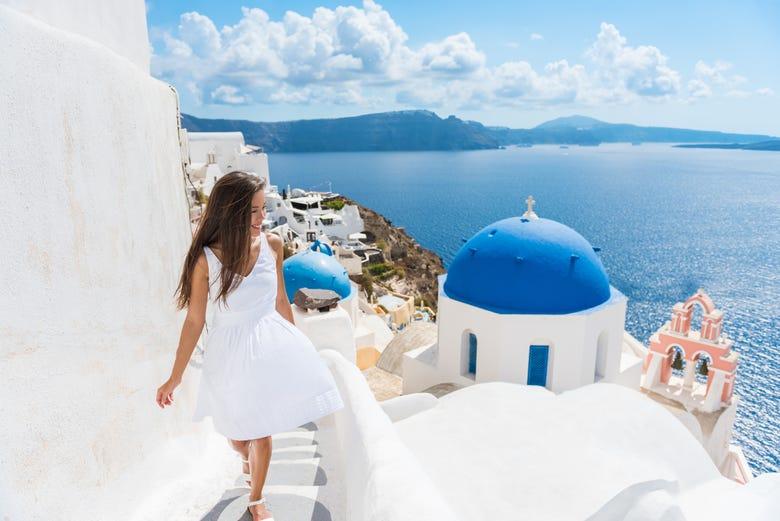 ,Excursión a Fira,Tour por Santorini,Excursión a Oia