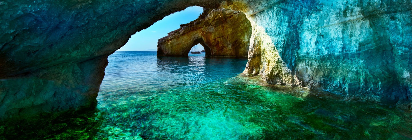 Zante Blue Caves & Beaches Tour