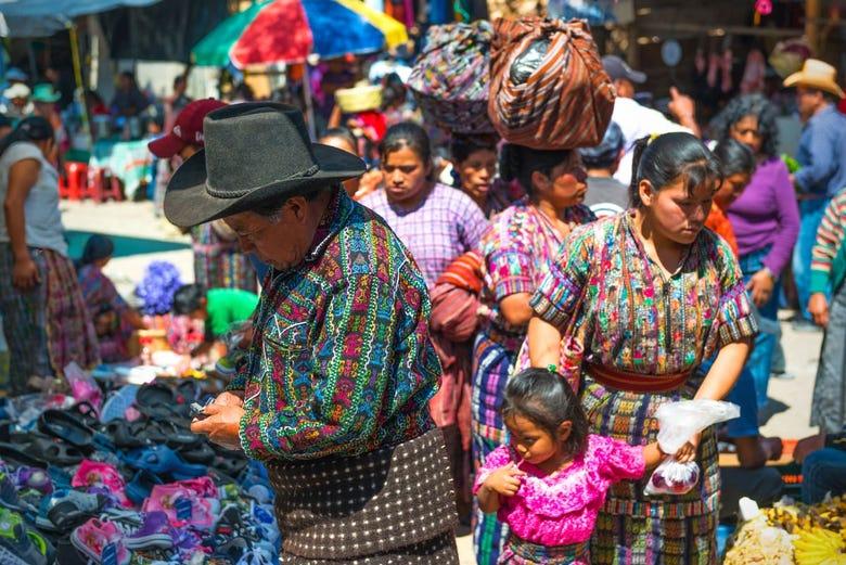 ,Mercado de Chichicastenango