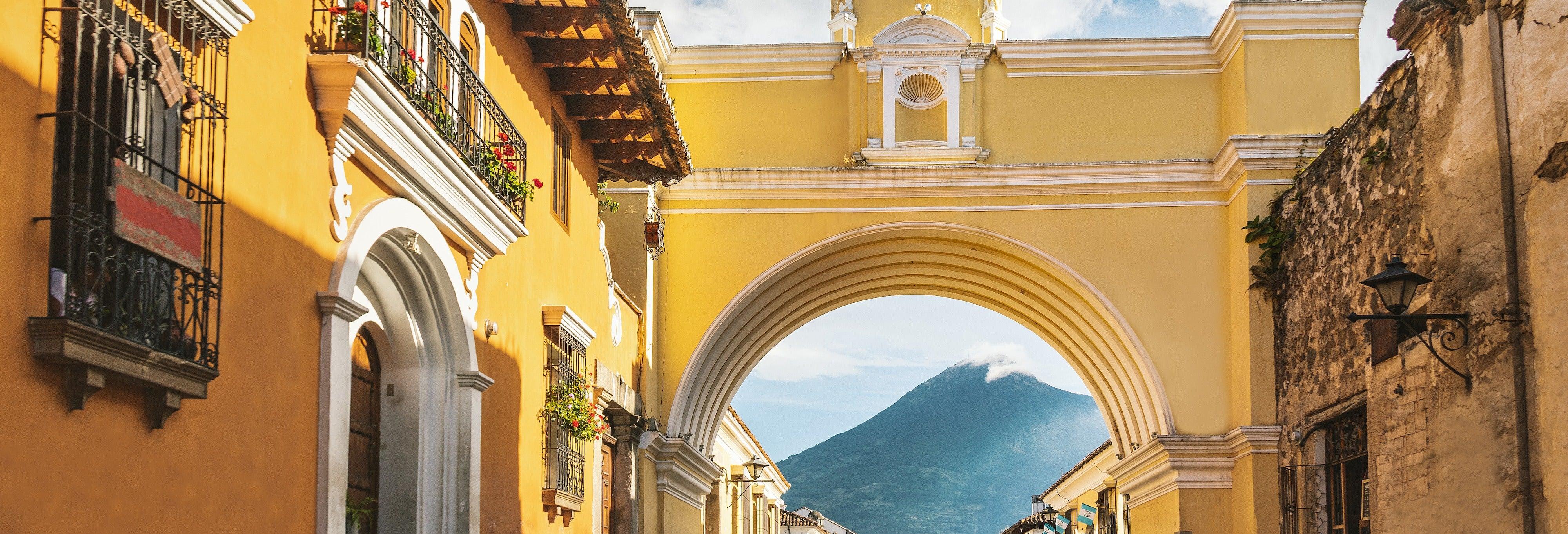 Visita guiada por Antigua Guatemala