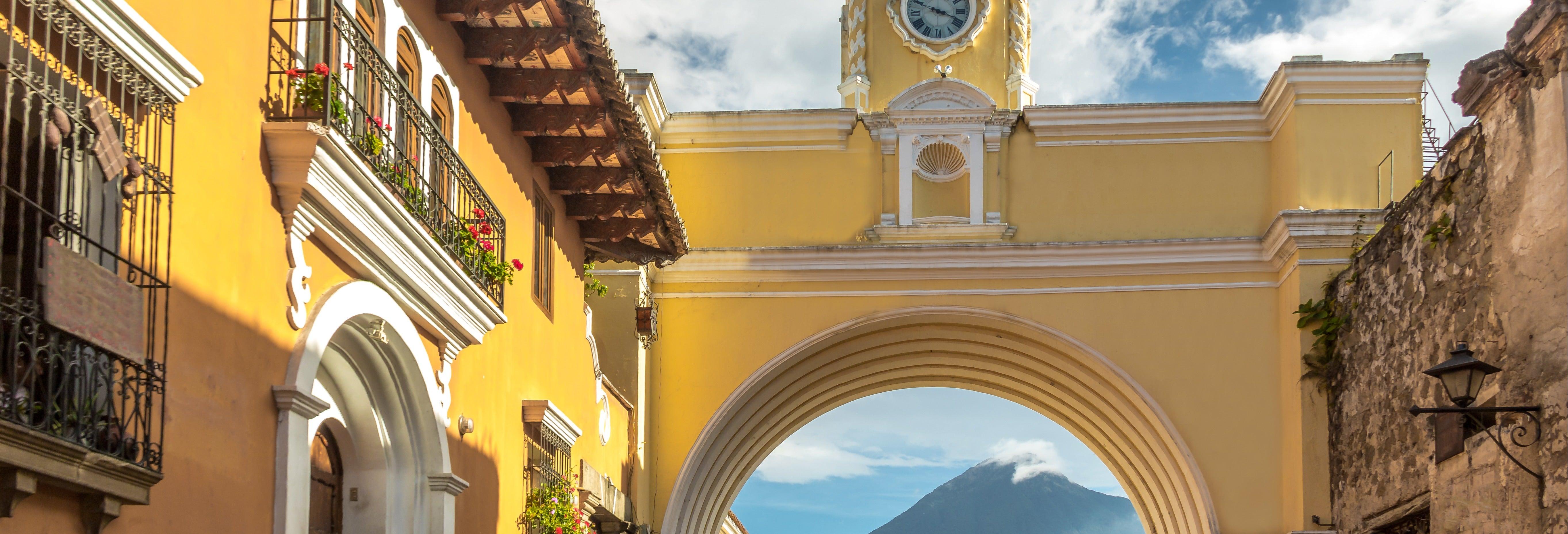 Tour por la Guatemala moderna y Colonial
