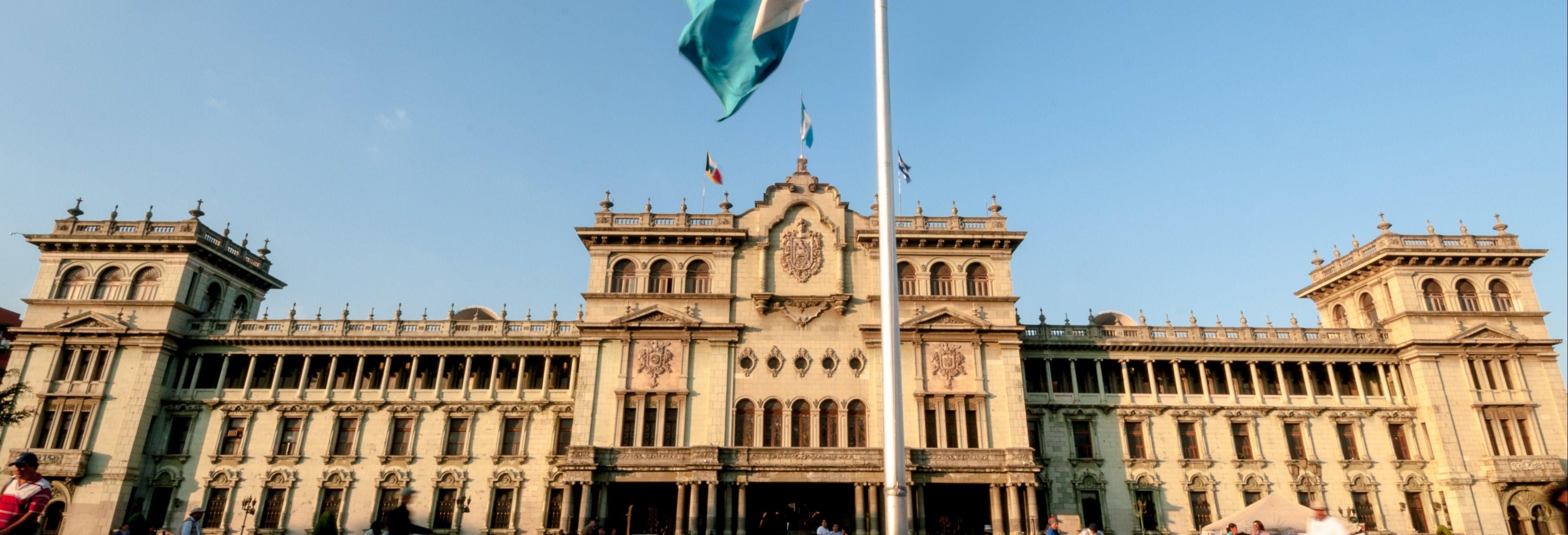 Visita guiada por Ciudad de Guatemala