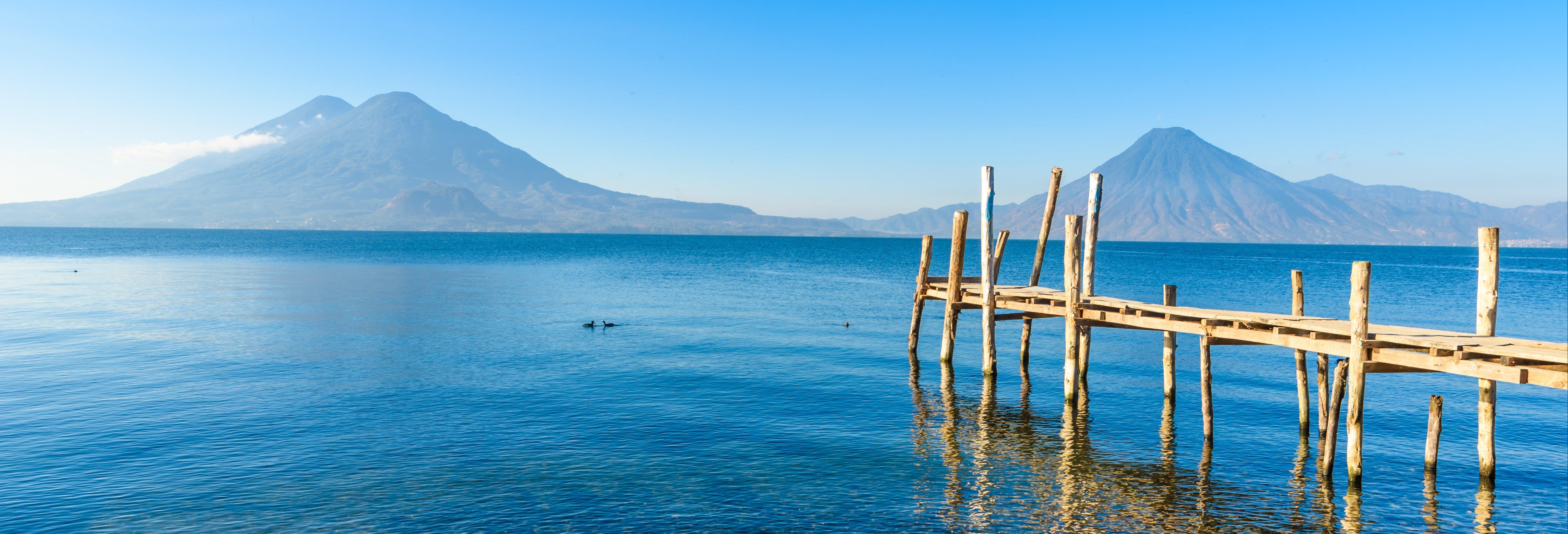 Lago Atitlán + Passeio de barco a Santiago