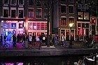 Barrio Rojo Amsterdam, escaparates