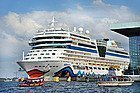 Puerto de cruceros de Ámsterdam