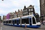 Tranvías en Ámsterdam