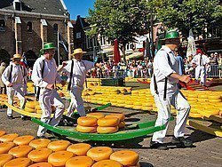 Mercado de quesos de Alkmaar