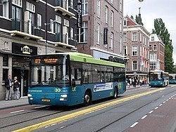 Autobús urbano de Ámsterdam