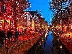 Bairro Vermelho de Amsterdam