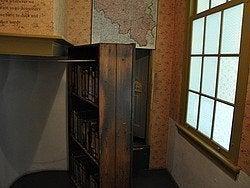 Casa de Ana Frank, escondite