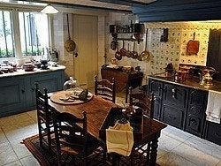 Casa Museo Van Loon, cocina