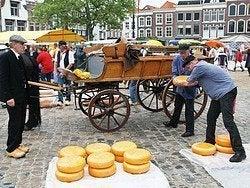 Mercado de queso de Gouda