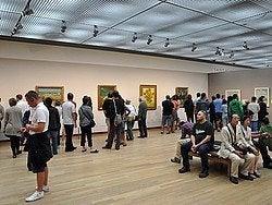 Museo Van Gogh, interior