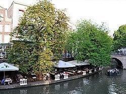 Utrecht, canal Oudegracht