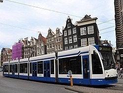 Tranvia de Amsterdam