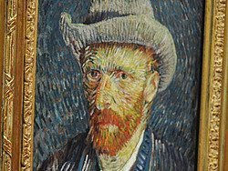 Autoretrato de Vincent Van Gogh