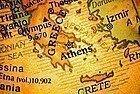 Situacion de Atenas en un mapa