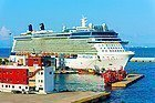 Crucero en Atenas, puerto de El Pireo