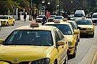 Taxis en Atenas