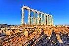 Cabo Sunión, Templo de Poseidón