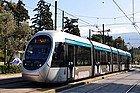 Tranvía en Atenas