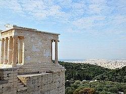 Acropolis, Templo de Atenea Nike