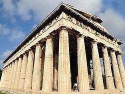 Agora Antigua, Templo de Hefesto