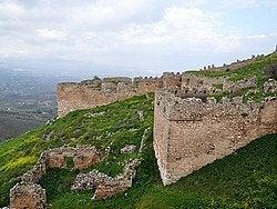 Corinto, Vistas desde Acrocorinto