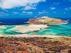 Laguna de Balos, en Creta