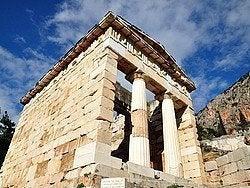 Delfos, Tesoro de los Atenienses