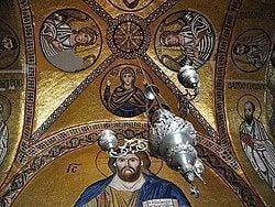 Monasterio de Osiou Louka, mosaicos
