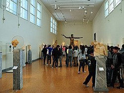 Museo Arqueologico de Atenas, interior